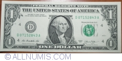 Image #1 of 1 Dollar 2013 - D