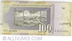 Imaginea #2 a 100 Denari (Денари) 2002 (I.)