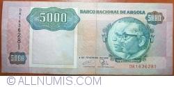 Imaginea #1 a 5000 Kwanzas 1991 (4. II.)