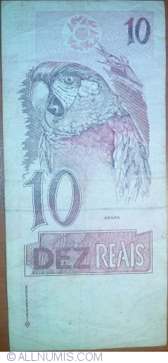 Image #2 of 10 Reais ND(1994-1997)