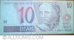 Image #1 of 10 Reais ND(1994-1997)