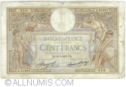 Image #1 of 100 Francs 1937 (25. III.)
