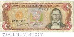 Imaginea #1 a 5 Pesos Oro 1987