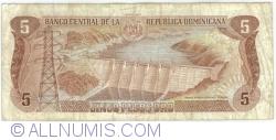 Imaginea #2 a 5 Pesos Oro 1987