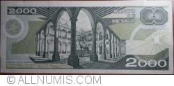 Image #2 of 2000 Pesos 1989 (28. III.) - Serie EH