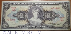 Image #1 of 5 Centavos ND(1966-1967) (overprint on 50 Cruzeiros ND(1963) - P#179)