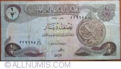 Image #1 of 1/2 Dinar 1980