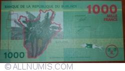 Image #1 of 1000 Francs 2015 (15. I.)