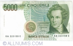 Image #1 of 5 000 Lire 1985 (4. I.)