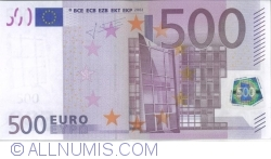 Image #1 of 500 Euro 2002 N (Austria)