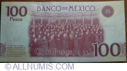 100 Pesos 2016 (25. I.)