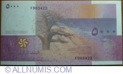 5000 Francs 2006