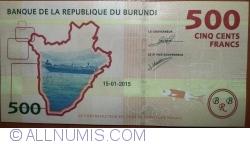 Image #2 of 500 Francs 2015 (15. I.)