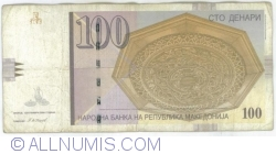 Imaginea #1 a 100 Denari (Денари) 2008 (IX.)