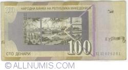Imaginea #2 a 100 Denari (Денари) 2008 (IX.)