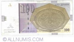 Imaginea #1 a 100 Denari (Денари) 2009 (I.)