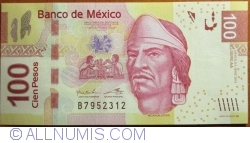 Image #1 of 100 Pesos 2012 (19. XII.) - serie AA