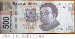 Image #1 of 500 Pesos 2013  ( 17. X.) - serie AF