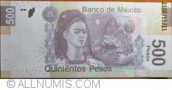 Image #2 of 500 Pesos 2013  ( 17. X.) - serie AF