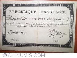Imaginea #1 a 250 Livres 1793 (28. IX. - 7 Vendémiaire l'an 2ème)
