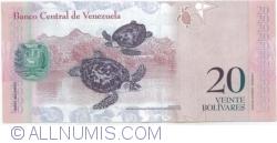 Imaginea #2 a 20 Bolivares 2014 (19. VIII.)