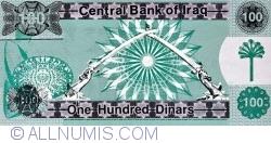 Image #2 of 100 Dinars 1991 (AH 1411) (١٤١١ - ١٩٩١)