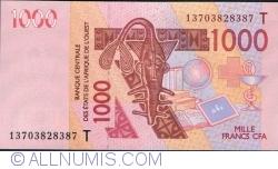Image #1 of 1000 Francs 2003/20(13)