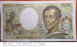 Image #1 of 200 Francs 1981