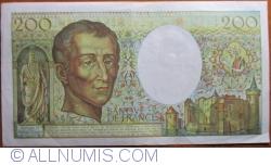 Image #2 of 200 Francs 1981