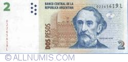 Imaginea #1 a 2 Pesos ND(2002) - semnături Mercedes Marcó del Pont/ Eduardo Fellner
