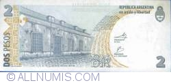 Imaginea #2 a 2 Pesos ND(2002) - semnături Mercedes Marcó del Pont/ Eduardo Fellner