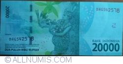 Image #2 of 20,000 Rupiah 2016