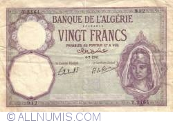 Image #1 of 20 Francs 1941  (4. VII.)