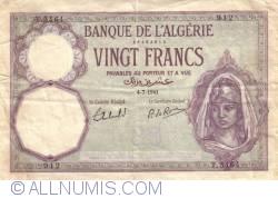 20 Francs 1941  (4. VII.)