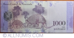 Imaginea #2 a 1000 Bolivares 2017 (23. III.)