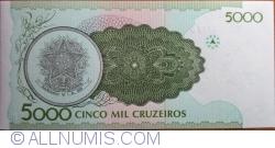 Image #2 of 5000 Cruzeiros ND (1990)