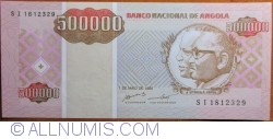 Imaginea #1 a 500 000 Kwanzas Reajustados1995 (1. V.)
