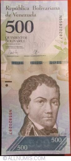 Imaginea #1 a 500 Bolivares 2017 (23. III.)