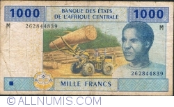 Image #1 of 1000 Francs 2002 - signatures J. F. Mamalepot / Louis Aleka-Rybert