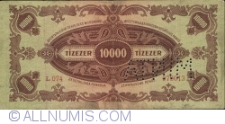 Imaginea #2 a 10000 Pengő 1945 - Specimen - Fals