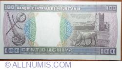 Imaginea #2 a 100 Ouguiya 2001 (28. XI.)