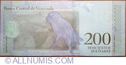 Imaginea #2 a 200 Bolivares 2018 (15. I.)