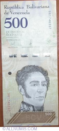 Imaginea #1 a 500 Bolivares 2018 (18. V.)