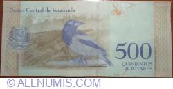Imaginea #2 a 500 Bolivares 2018 (18. V.)