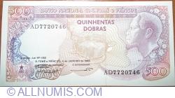 500 Dobras 1989 (04. I.)