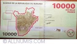 Image #2 of 10000 Francs 2015 (15. I.)