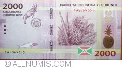Image #1 of 2000 Francs 2015 (15. I.)