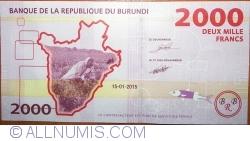 Image #2 of 2000 Francs 2015 (15. I.)