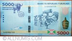 Image #1 of 5000 Francs 2015 (15.I.)