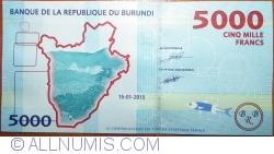 Image #2 of 5000 Francs 2015 (15.I.)